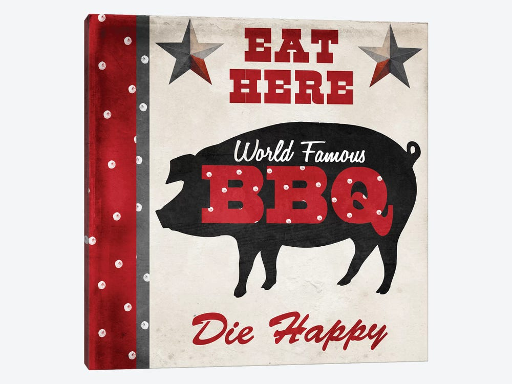 Texas BBQ II by Color Bakery 1-piece Canvas Wall Art