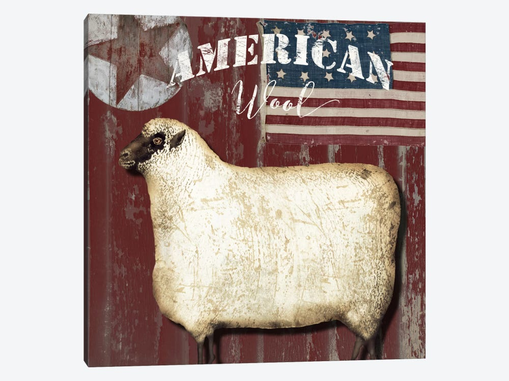 American Wool I by Color Bakery 1-piece Canvas Artwork