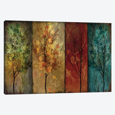 Tree Story Continued Canvas Print #CBY972} by Color Bakery Canvas Artwork