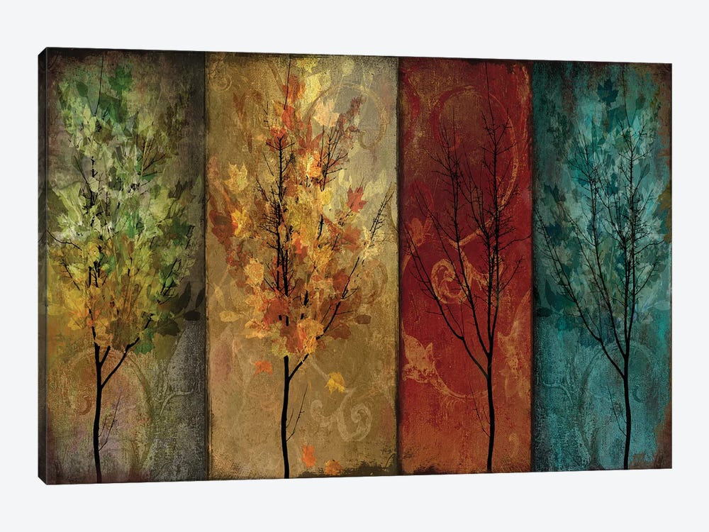 Tree Story Continued by Color Bakery 1-piece Canvas Print