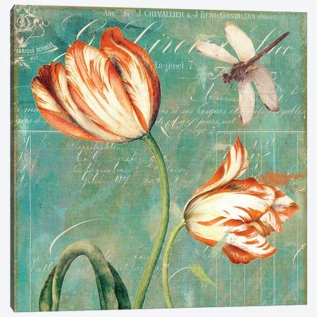 Tulips Ablaze I Canvas Print #CBY980} by Color Bakery Art Print