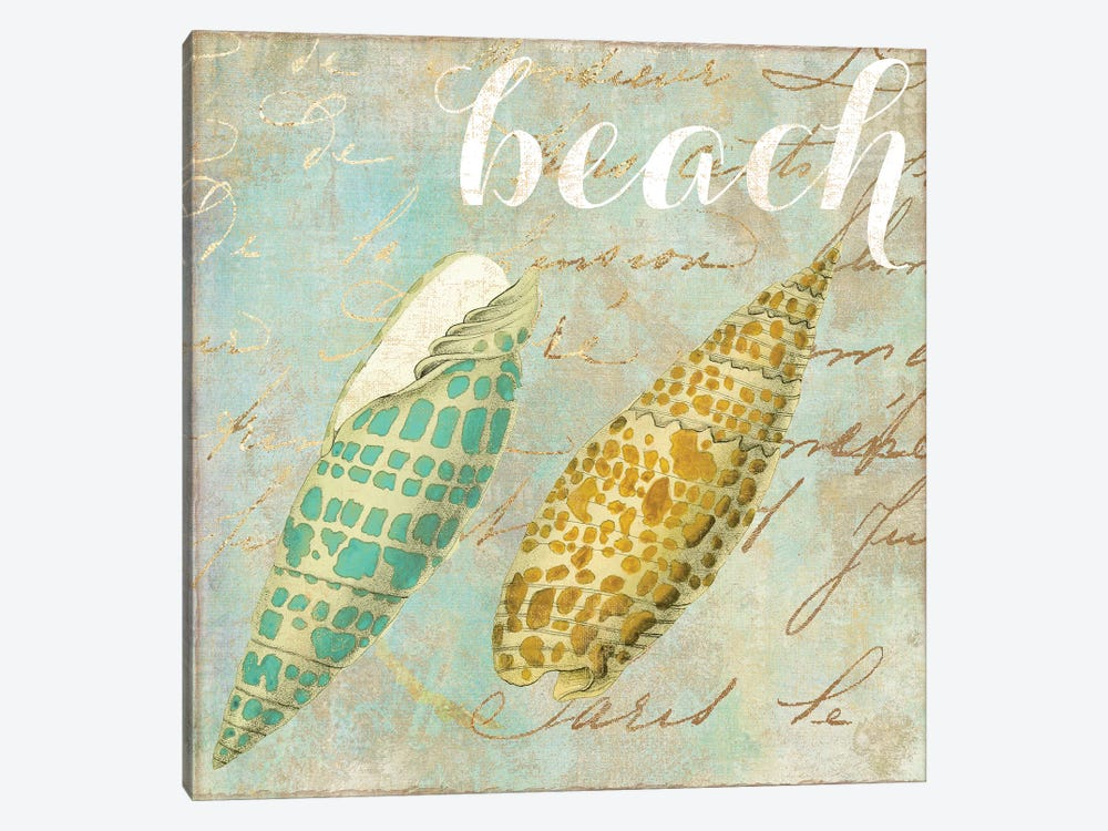 Turquoise Beach II by Color Bakery 1-piece Canvas Print
