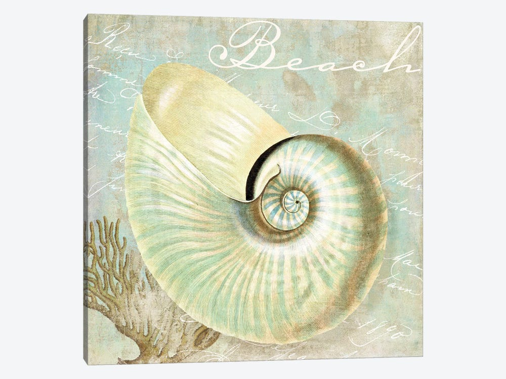 Turquoise Beach IV by Color Bakery 1-piece Art Print