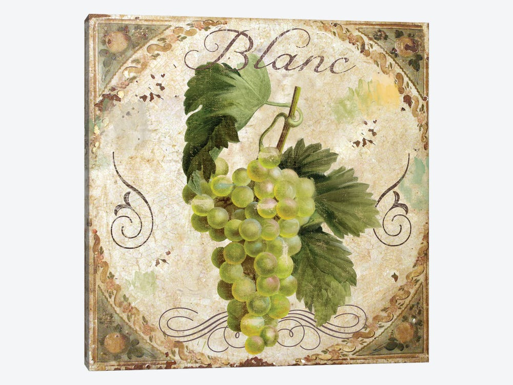Tuscany Table Blanc by Color Bakery 1-piece Canvas Artwork