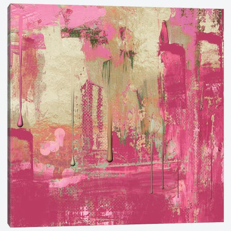Uncommon Rose Canvas Print #CBY997} by Color Bakery Art Print