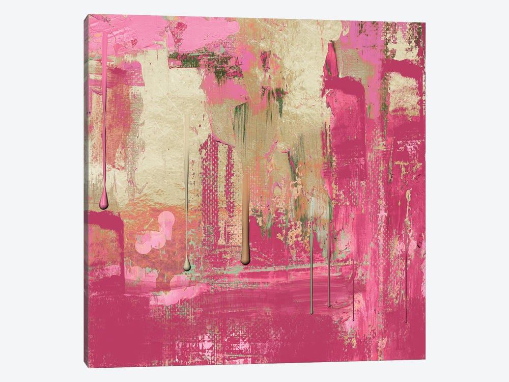 Uncommon Rose by Color Bakery 1-piece Canvas Artwork