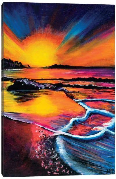 Bold Sunset Canvas Art Print