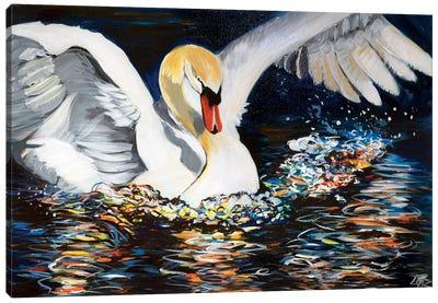 The Swan Canvas Art Print