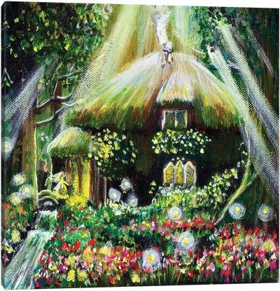 The Enchanted Cottage Canvas Art Print