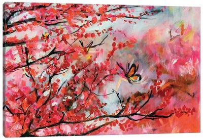 Blossom Fall Canvas Art Print