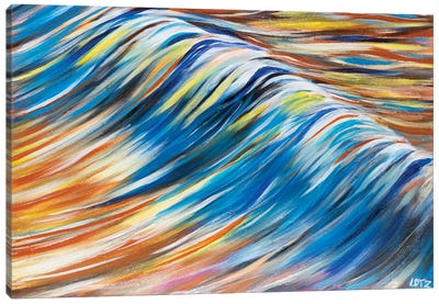 Blue Swell Canvas Art Print