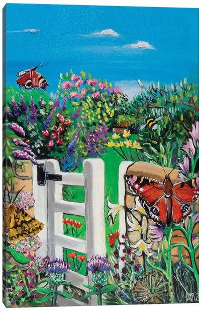 Cottage Garden Canvas Art Print