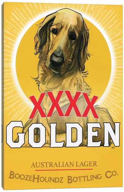 XXXX Golden Australian Lager Canvas Art Print