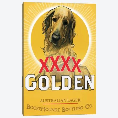 XXXX Golden Australian Lager 3-Piece Canvas #CCA34} by Canine Caricatures Canvas Art