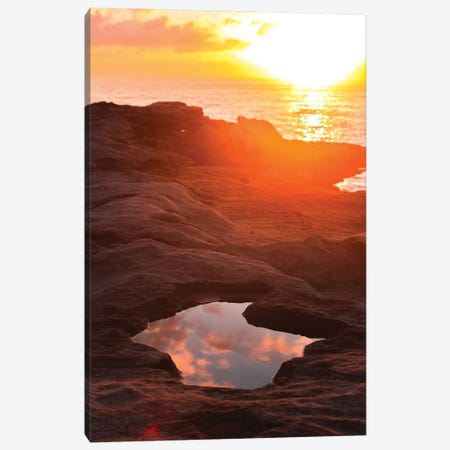 Puddle Planning Canvas Print #CCD105} by Charlotte Curd Canvas Artwork