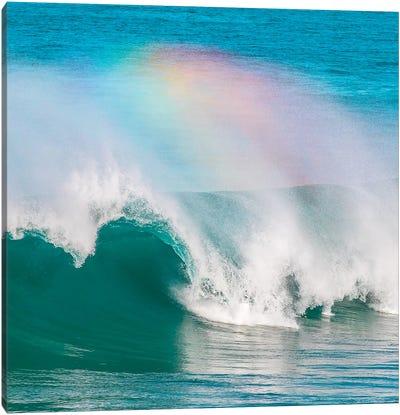 Rainbow Wave Canvas Art Print
