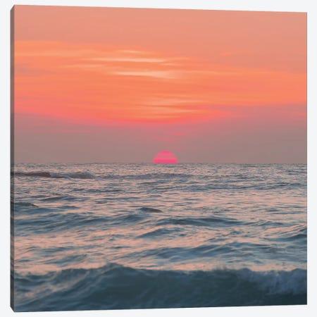 Sunrise Sunrise Canvas Print #CCD13} by Charlotte Curd Canvas Wall Art