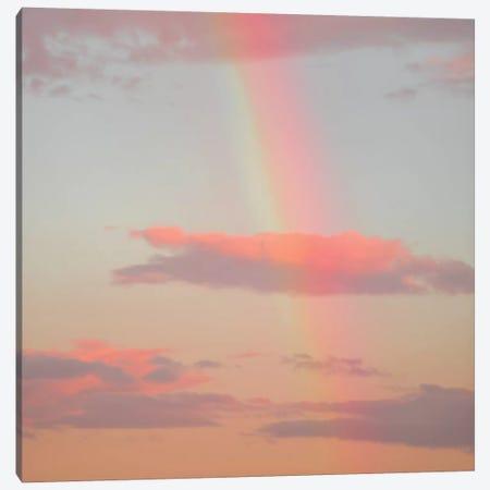 Rainbow Skies Canvas Print #CCD14} by Charlotte Curd Art Print