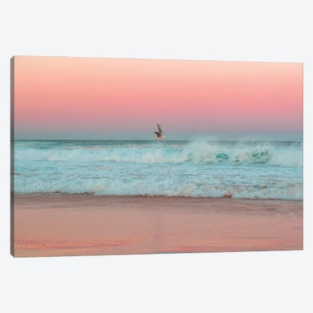 Reflecting Lines Canvas Print #CCD33} by Charlotte Curd Canvas Wall Art