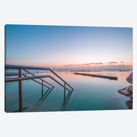 Crystal Clear 3-Piece Canvas #CCD40} by Charlotte Curd Art Print