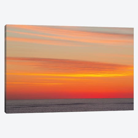 Smooth Skies Canvas Print #CCD68} by Charlotte Curd Art Print