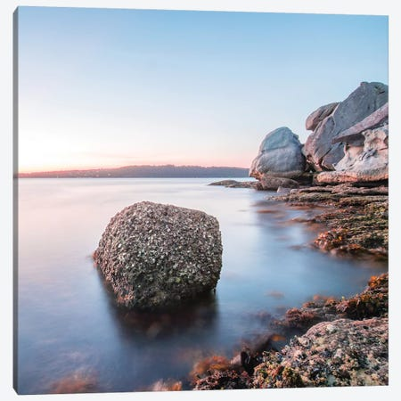 Rocky Point 3-Piece Canvas #CCD6} by Charlotte Curd Canvas Print