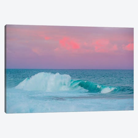 Pastel Waves 3-Piece Canvas #CCD77} by Charlotte Curd Canvas Print