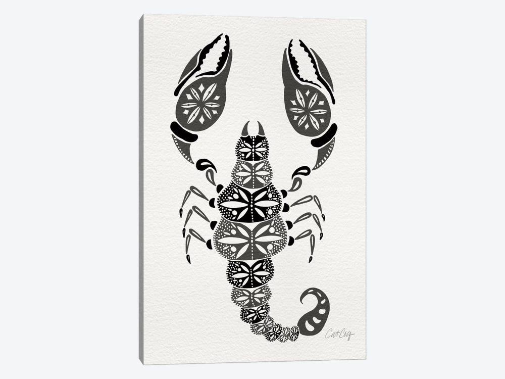 Grey Scorpion by Cat Coquillette 1-piece Canvas Art