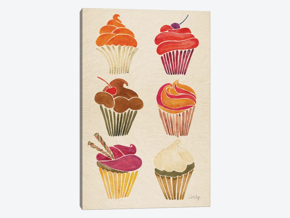 Cupcakes by Cat Coquillette 1-piece Art Print