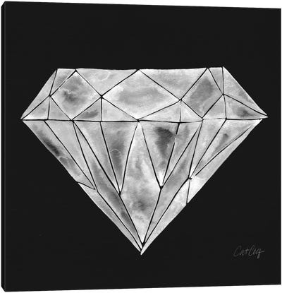 Diamond by Cat Coquillette Canvas Art Print