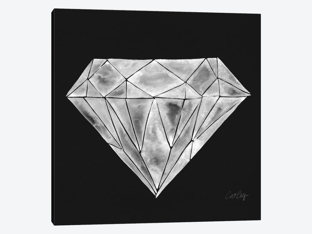 Diamond Artprint by Cat Coquillette 1-piece Canvas Wall Art