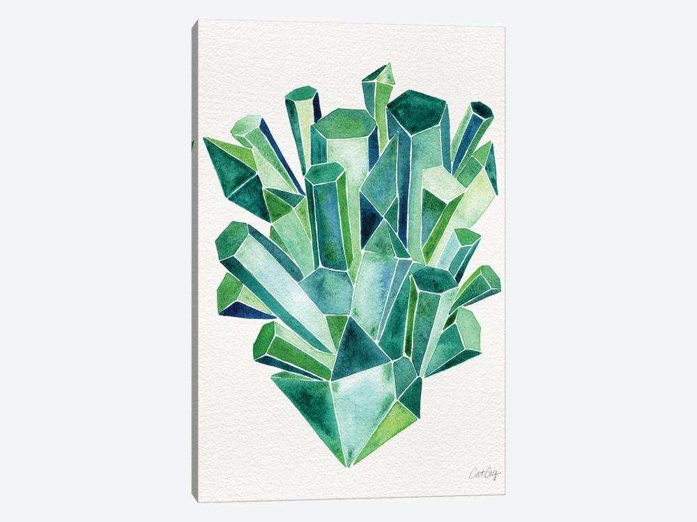 Emerald by Cat Coquillette 1-piece Canvas Artwork