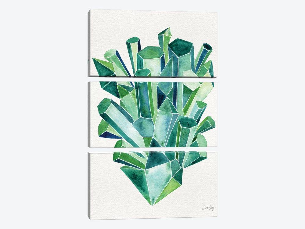 Emerald by Cat Coquillette 3-piece Canvas Art