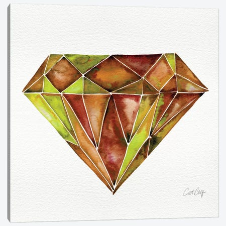 Fire Opal Canvas Print #CCE172} by Cat Coquillette Art Print
