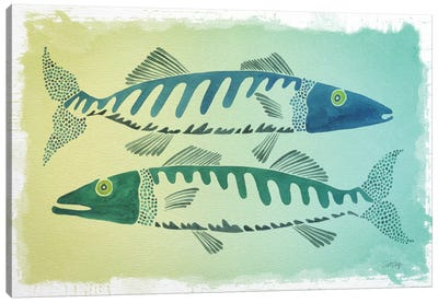 Fish by Cat Coquillette Canvas Art Print