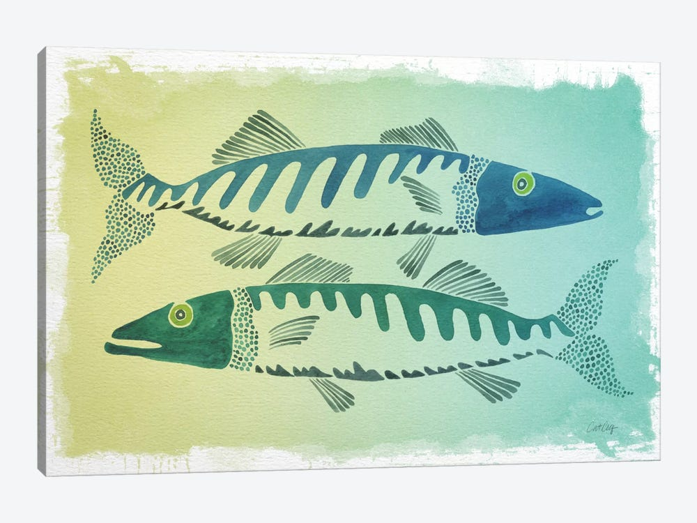 Fish Artprint by Cat Coquillette 1-piece Art Print