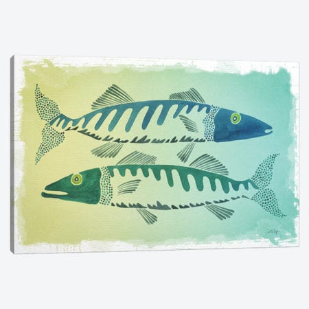 Fish Canvas Print #CCE173} by Cat Coquillette Art Print