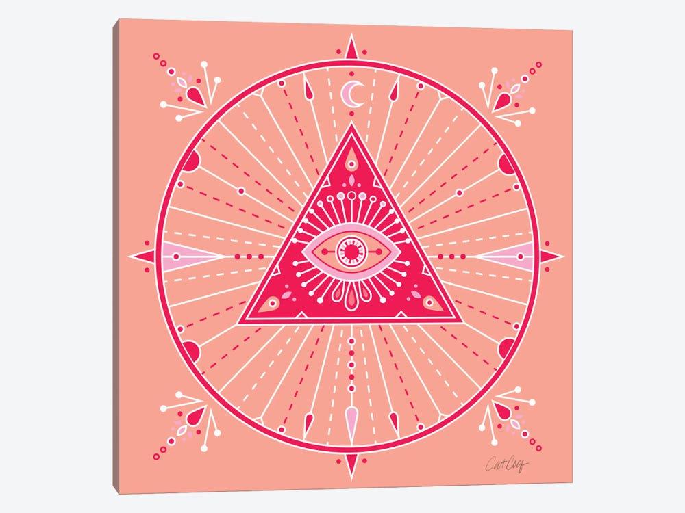 Evil Eye Mandala III by Cat Coquillette 1-piece Canvas Art