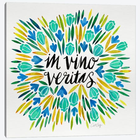 In Vino Veritas IV Canvas Print #CCE221} by Cat Coquillette Canvas Art Print