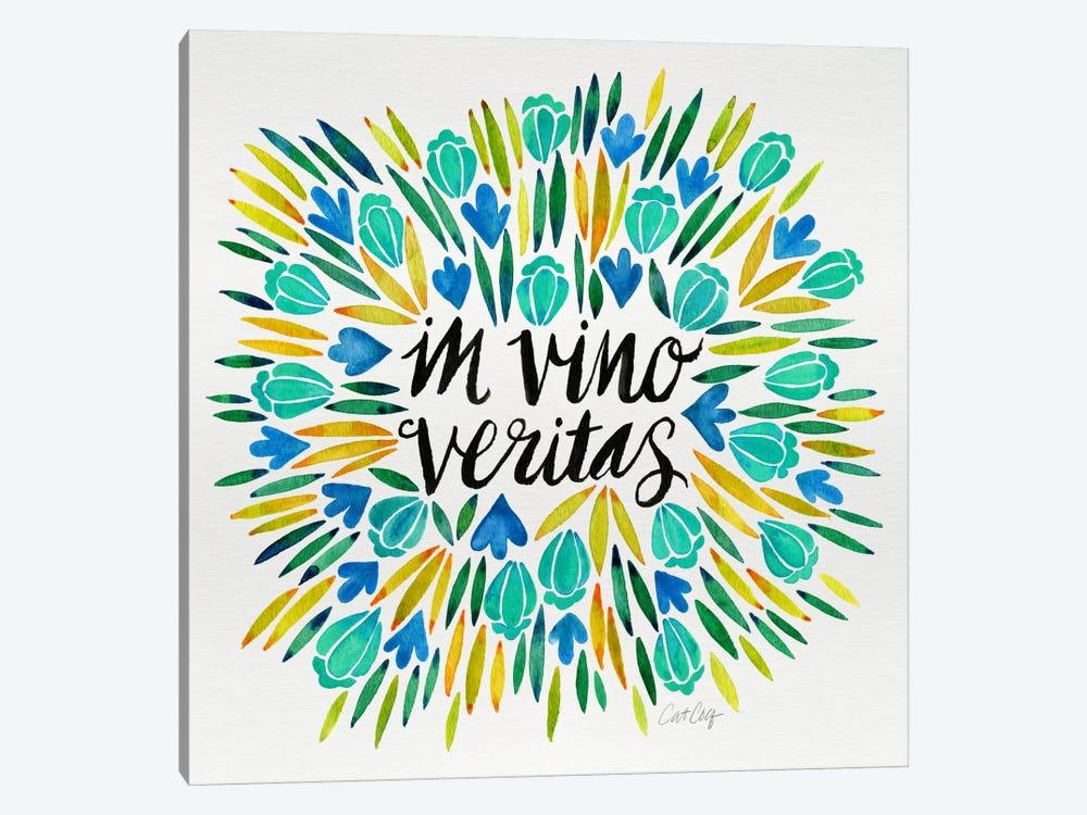 In Vino Veritas IV by Cat Coquillette 1-piece Canvas Art