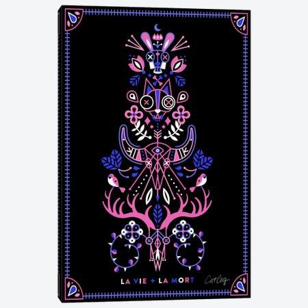 La Vie + La Mort II Canvas Print #CCE223} by Cat Coquillette Art Print