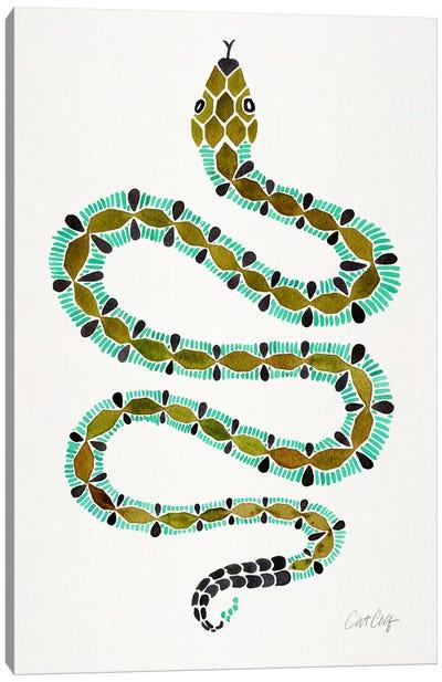 Lone Serpent Canvas Art Print