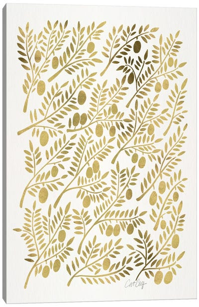 Olive Branches I Canvas Art Print