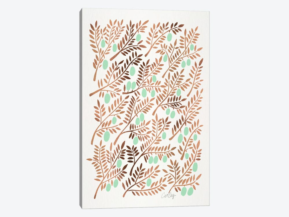 Olive Branches III by Cat Coquillette 1-piece Art Print