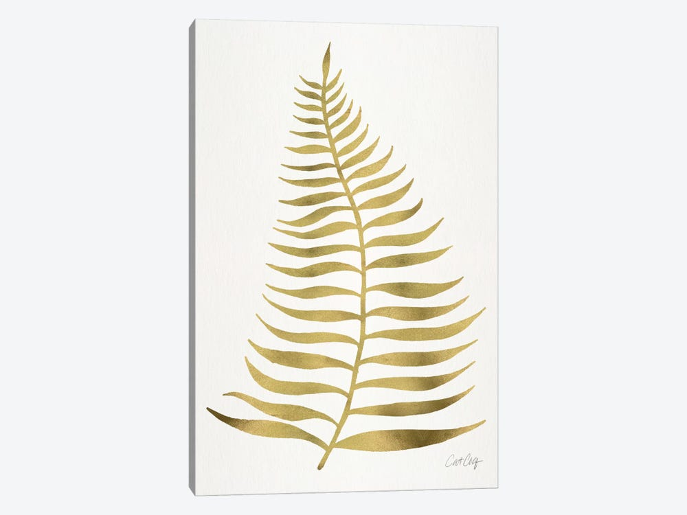 Palm Leaf I by Cat Coquillette 1-piece Canvas Art