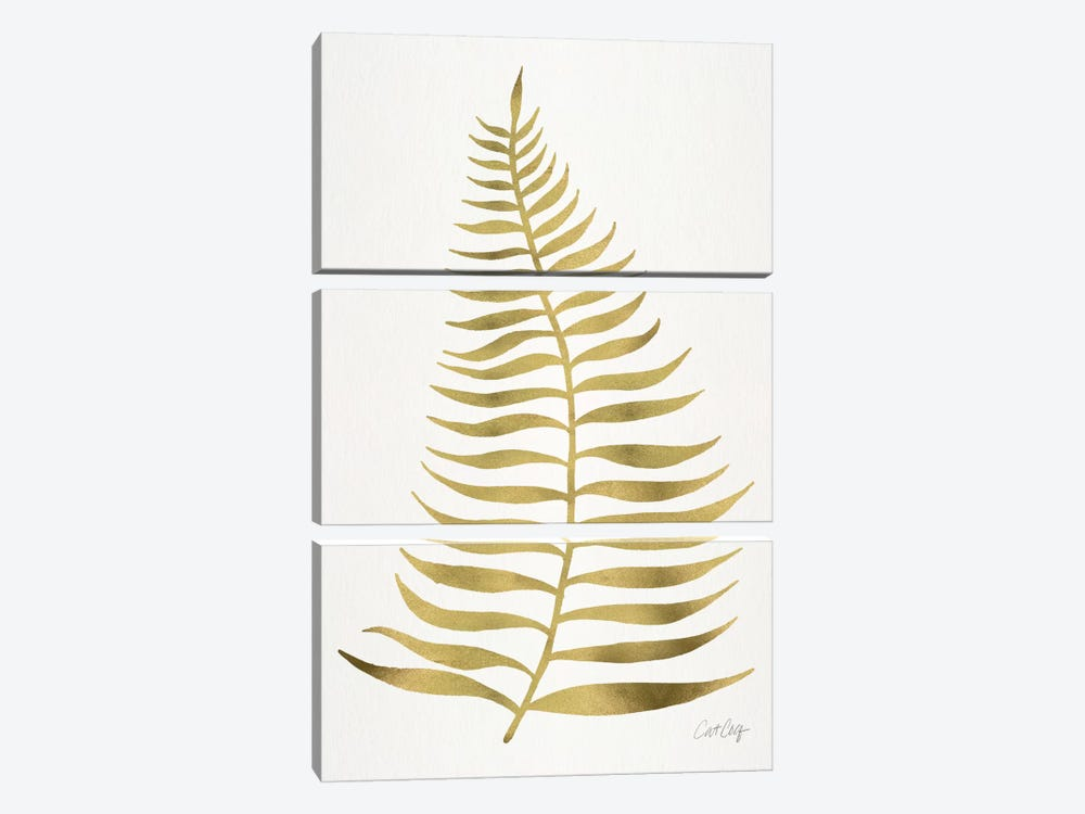 Palm Leaf I by Cat Coquillette 3-piece Canvas Artwork