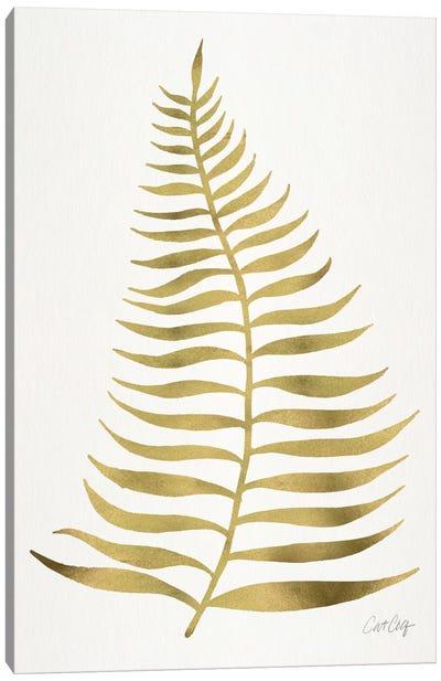 Palm Leaf I Canvas Art Print