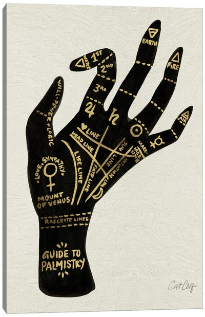 Palmistry I by Cat Coquillette Canvas Art Print