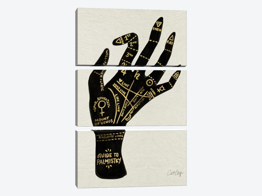 Palmistry I by Cat Coquillette 3-piece Art Print