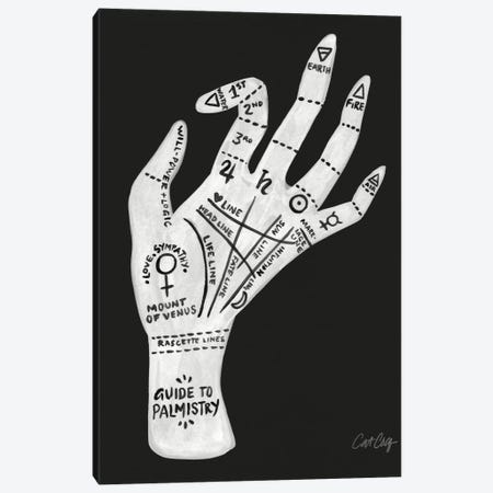 Palmistry II Canvas Print #CCE236} by Cat Coquillette Canvas Art Print
